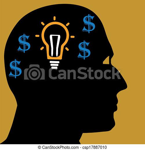 Thinking man - csp17887010
