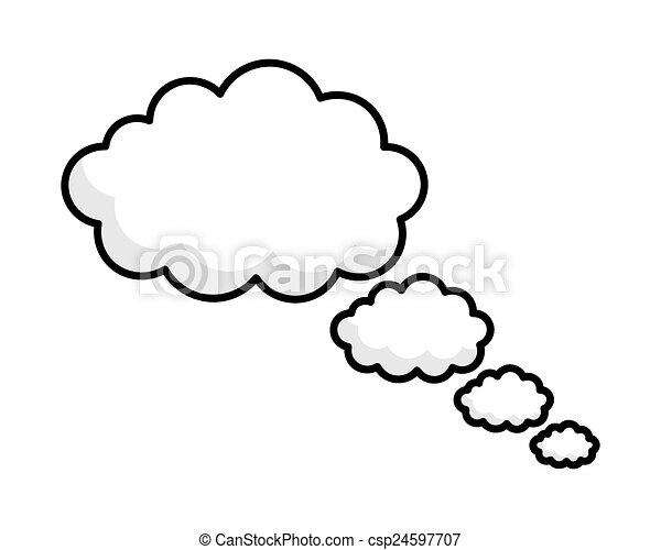 thought bubbles vector frames abstract artistic fantasy fluffy