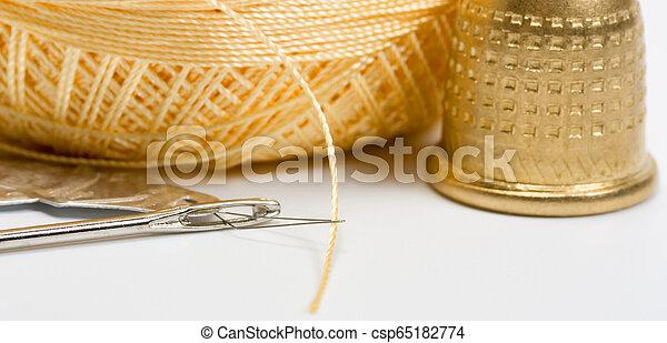 Thread needle button - csp65182774