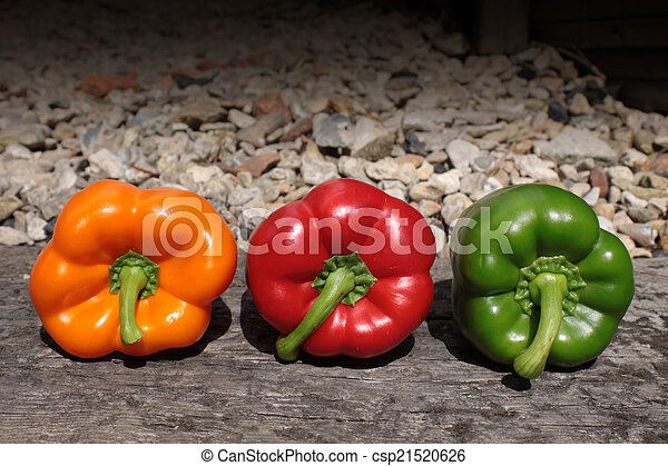 Three Bell Peppers - csp21520626