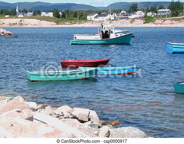 Three Boats - csp0000917