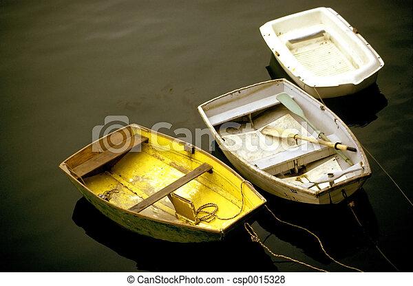 Three Boats - csp0015328