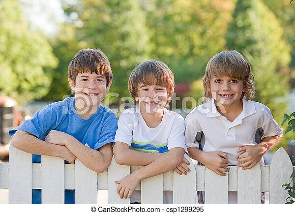 Three Boys - csp1299295