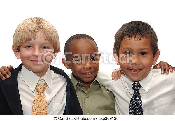 Three Boys - csp3691304