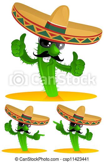 three cactus - csp11423441