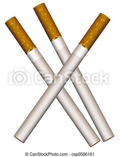 Three cigarettes - csp0566161