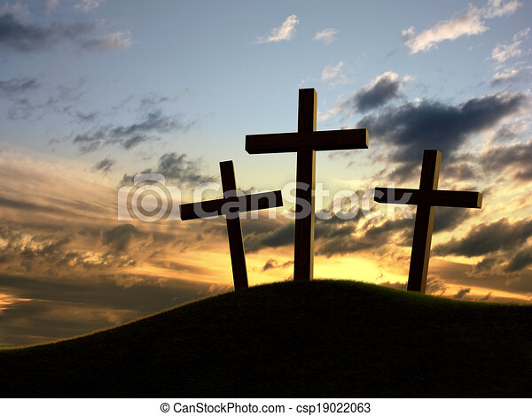 Three crosses - csp19022063
