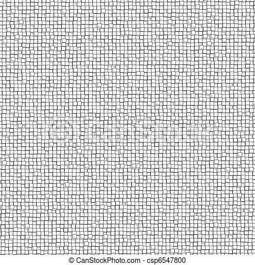 Three-dimensional design from white blocks. EPS 8 - csp6547800