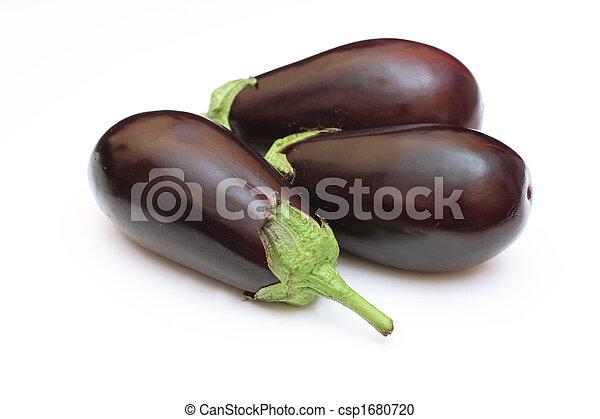 Three eggplant - csp1680720