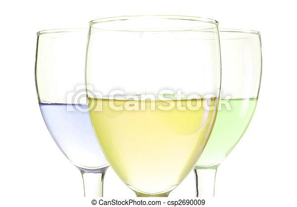 three glasses - csp2690009