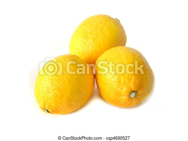 Three lemons - csp4690527