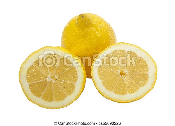 Three lemons - csp5690226