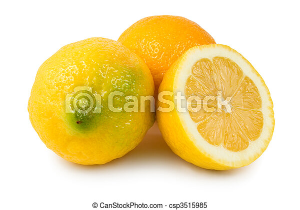 Three lemons - csp3515985
