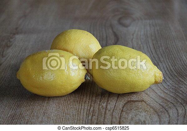 Three lemons - csp6515825