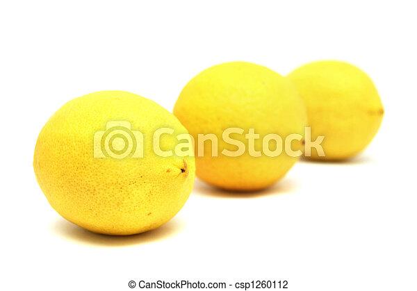Three Lemons - csp1260112