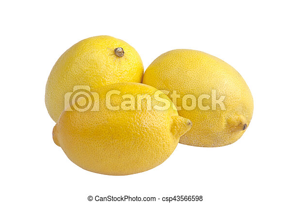 three lemons - csp43566598