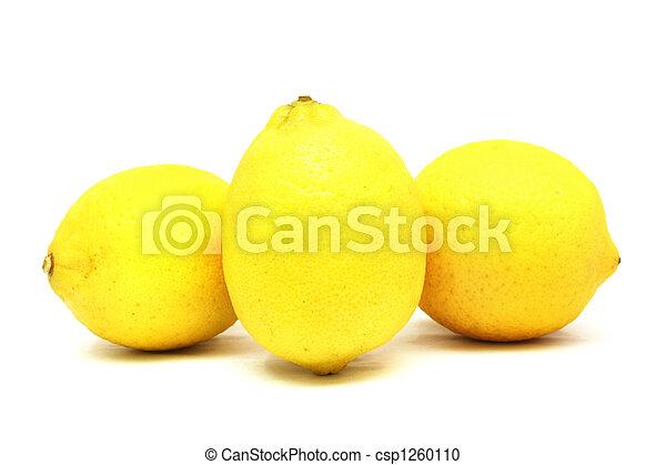 Three Lemons - csp1260110