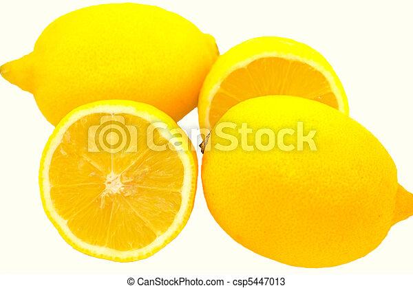 Three lemons - csp5447013