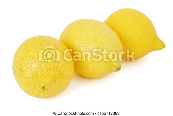 Three Lemons - csp5717863