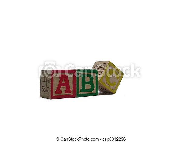 Three Letter Blocks - csp0012236