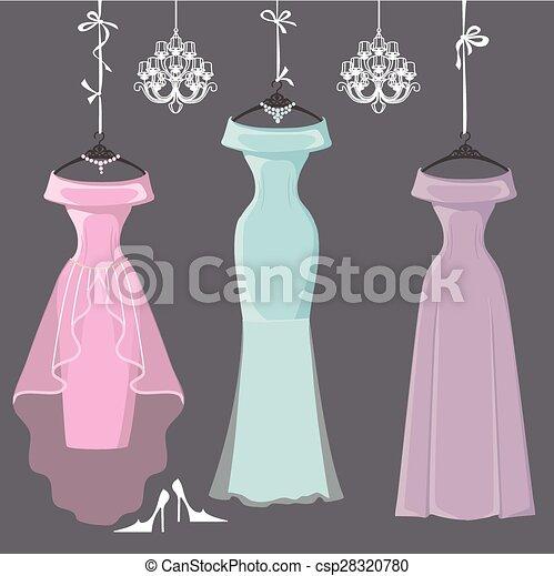 Bridesmaid Dresses Clipart, Transparent PNG Clipart Images Free Download -  ClipartMax
