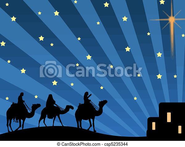 three magic kings - csp5235344