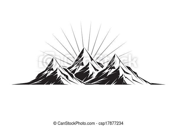 Line Drawing Vector Graphics : Everest stock illustration images. 778 illustrations