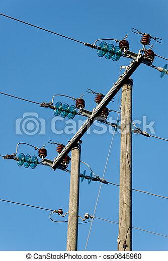 Three Power Lines - csp0845960