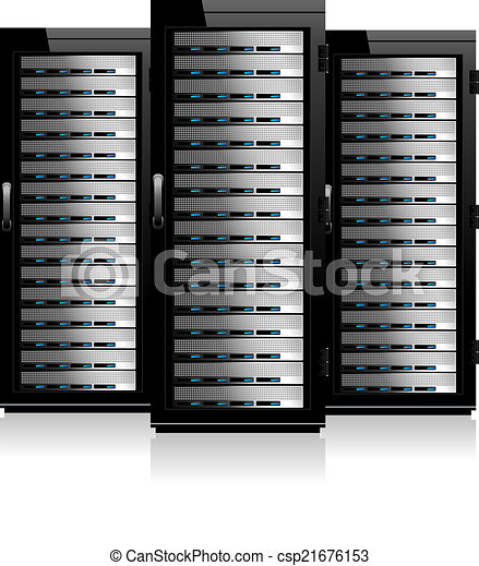three servers server in cabinets network servers rh canstockphoto com server open clipart server open clipart