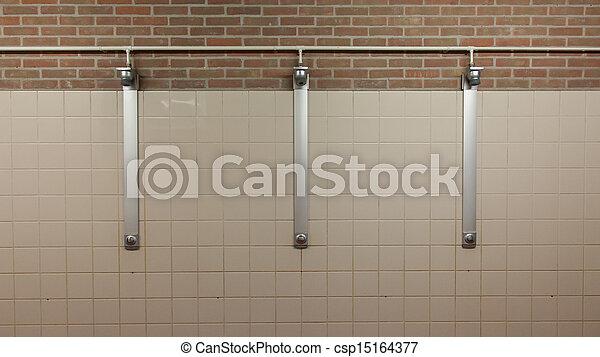 Three showers - csp15164377