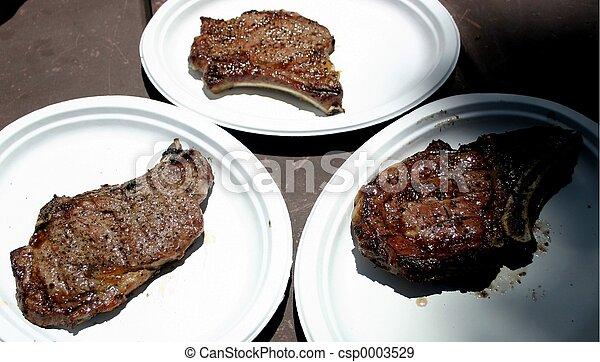 Three Steaks - csp0003529