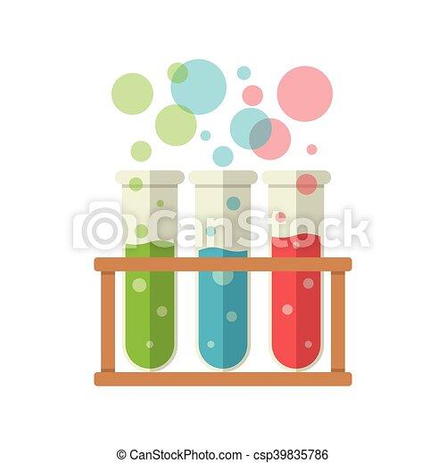 Three test tubes - csp39835786