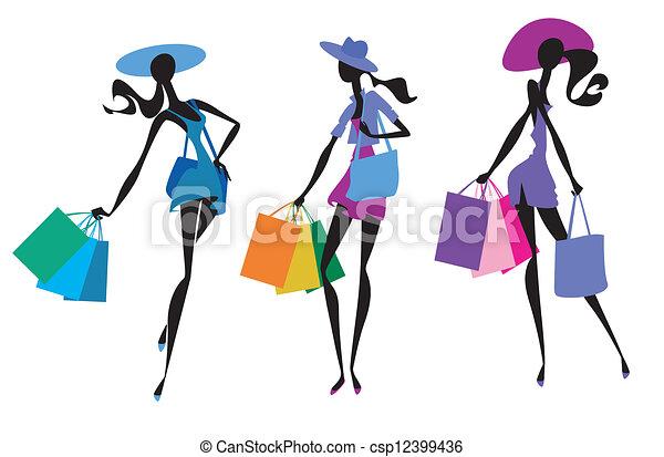 Three women - csp12399436