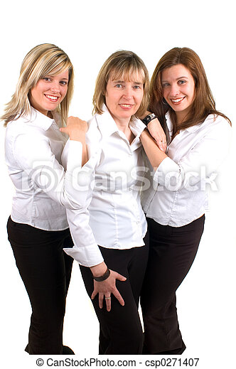 Three Women - csp0271407