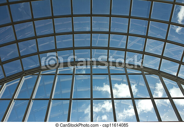 Through the window - csp11614085
