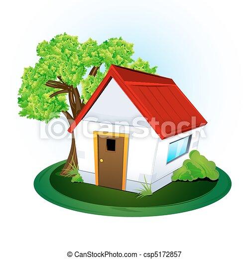 thuis, natuurlijke  - csp5172857