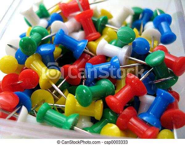 Thumb Tacks - csp0003333