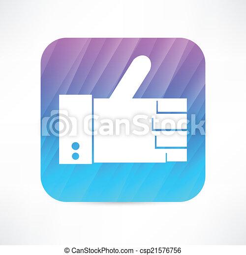 thumb up icon - csp21576756
