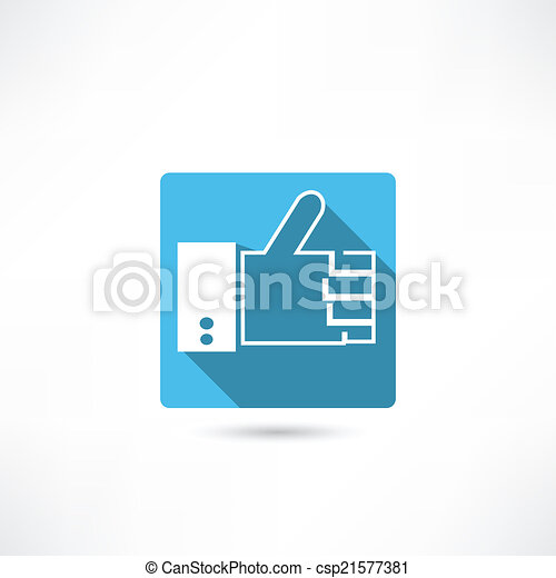 thumb up icon - csp21577381