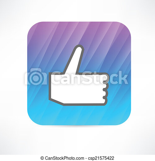 thumb up icon - csp21575422