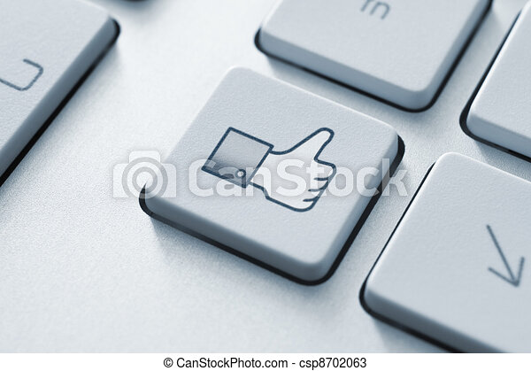 Thumb Up Like Button - csp8702063