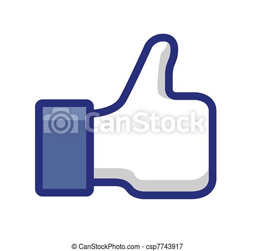 thumb up - csp7743917