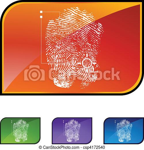 thumbprint - csp4172540