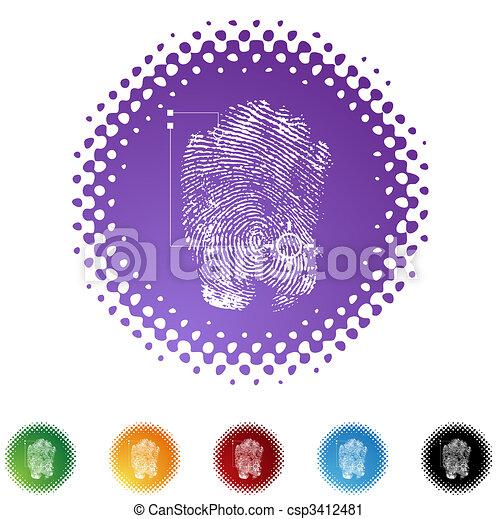 Thumbprint - csp3412481