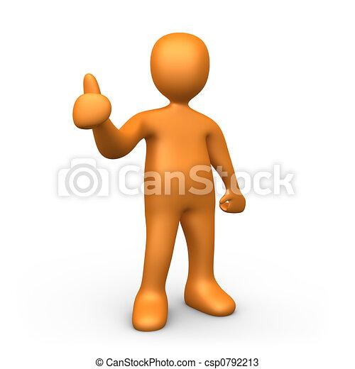Thumbs Up - csp0792213
