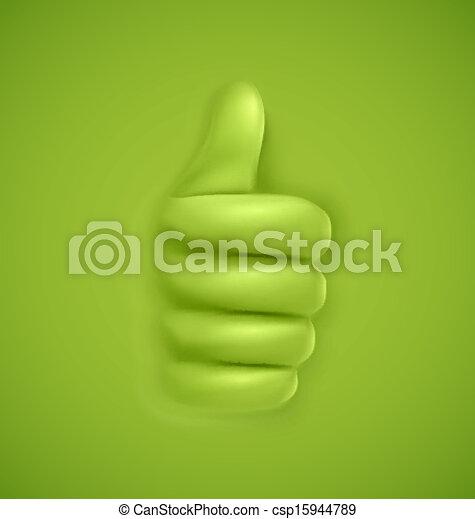 Thumbs up - csp15944789