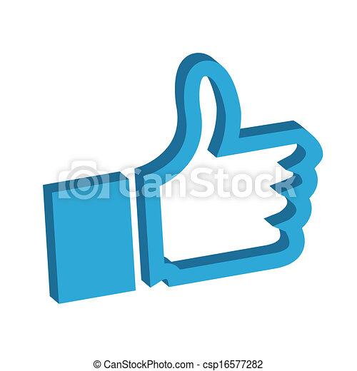 Thumbs up - csp16577282