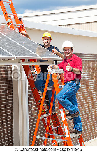 Thumbs Up for Solar Energy - csp1941945