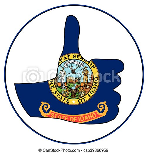 Thumbs Up Idaho - csp39368959