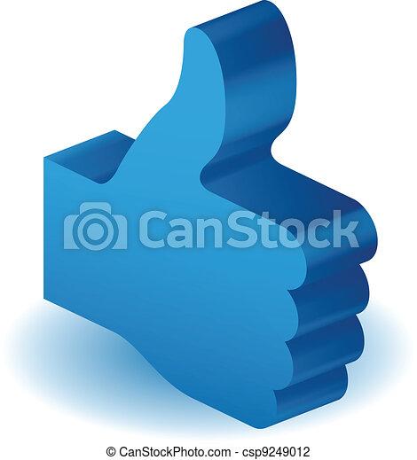 Thumbs Up - csp9249012
